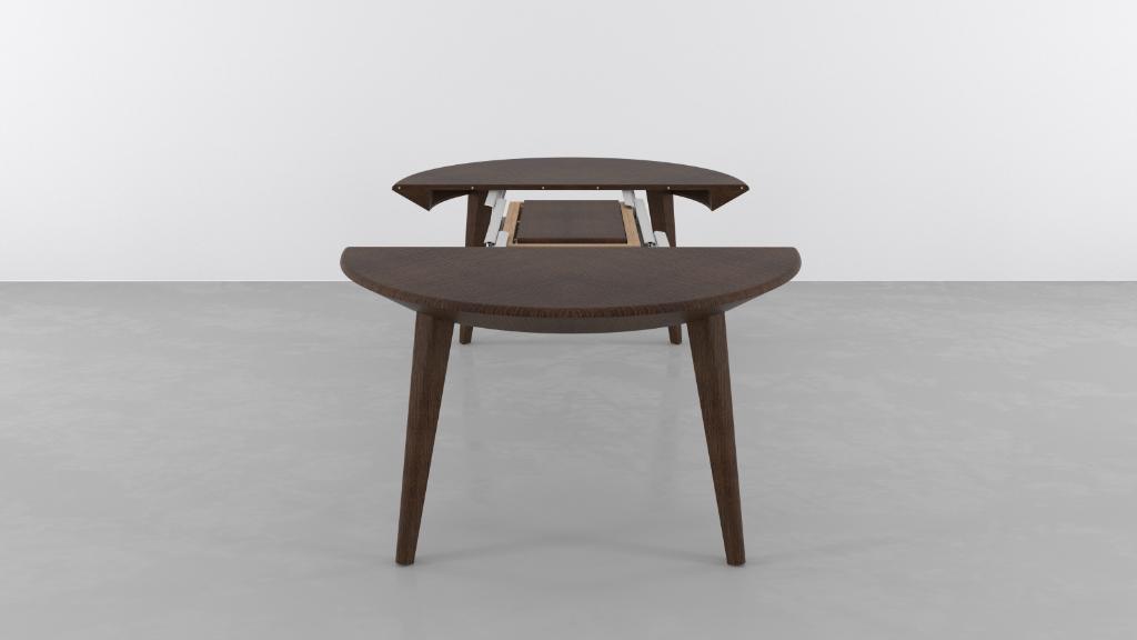 Piemy tavoli allungabili tavoli trasformabili consolle for Tavolo rotondo allungabile design